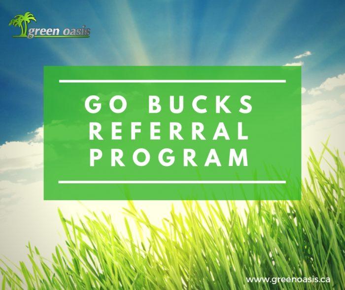 GO Bucks Referral Program